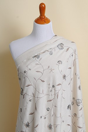 Embroidered Cotton Floral
